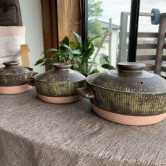 商品35-1.2.3 ストライプ土鍋