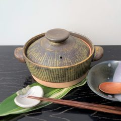 商品035-1.2.3 ストライプ土鍋
