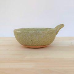 商品043 緑釉とんすい