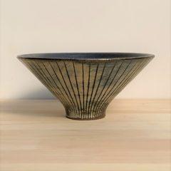 商品012 ストライプ朝顔碗